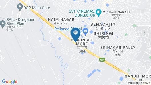 Hotel Galaxy Inn Map