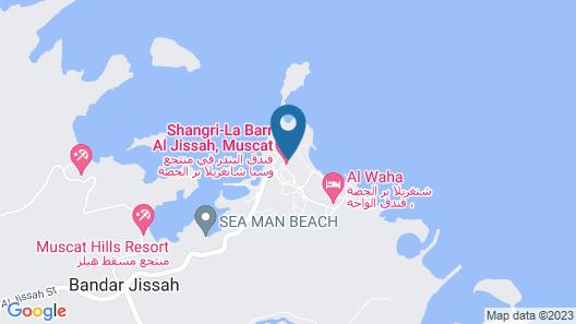 Shangri-La Al Husn Resort & Spa Map