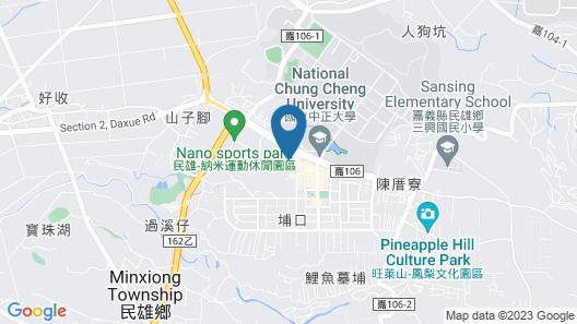 HOYA RESORT HOTEL CHIAYI Map