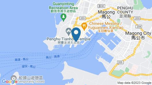 Lucky Bay B&B Map