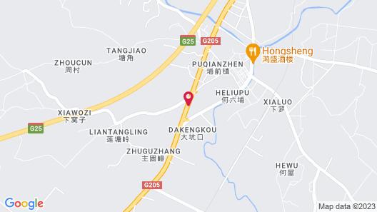 Puqian Business Hotel Map