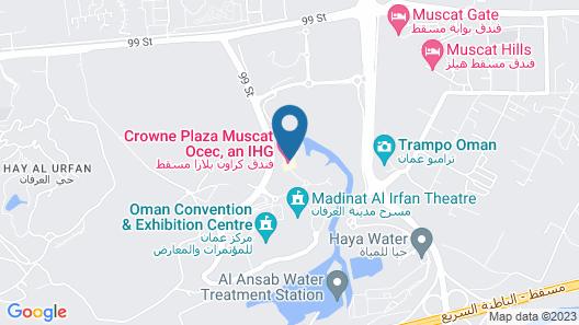 Crowne Plaza Muscat OCEC, an IHG Hotel Map