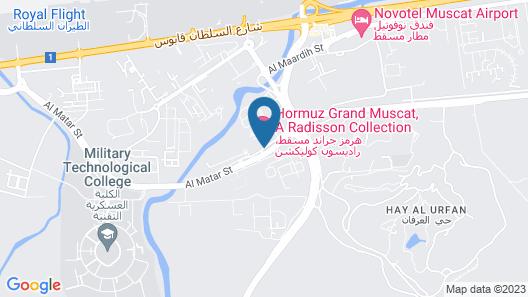 Radisson Collection Hotel, Hormuz Grand Muscat Map