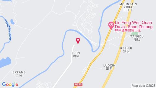 Hilton Huizhou Longmen Resort Map