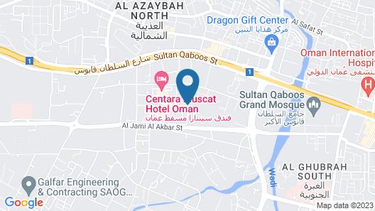 Farah Hotel Apartment Map