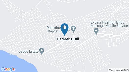 Exuma Daisy Cottage Map