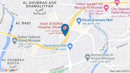 Ramada Encore by Wyndham Muscat Al-Ghubra Map