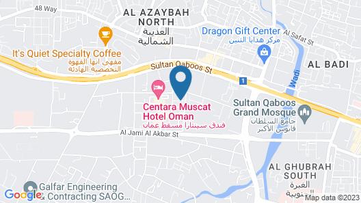 The Secure Inn Hotel Map