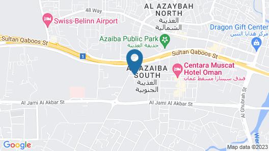 Savoy Grand Hotel Apartments Map
