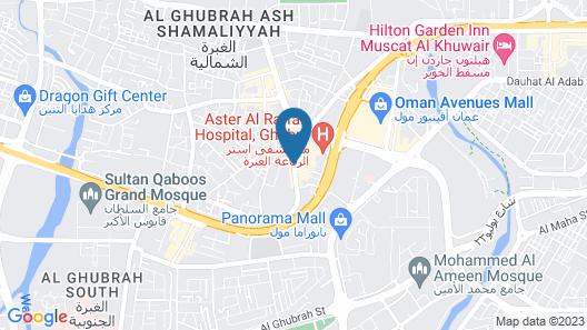 Dar Al Deyafa Hotel Apartment Map