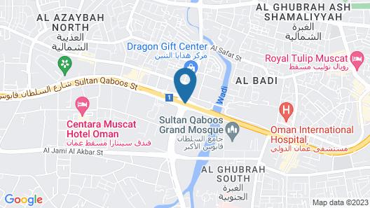 MUSCAT GATE HOTEL Map