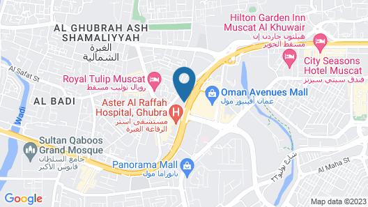 Bowshar International Hotel Map