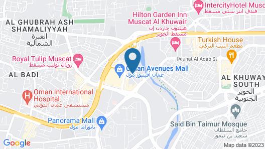 Grand Millennium Muscat Map