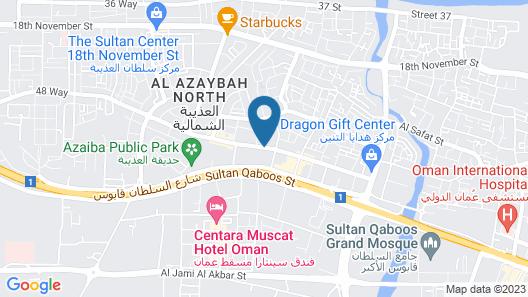 Al-Saif Grand Hotel Map