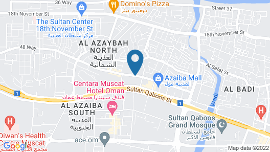 Al Murooj Hotel Apartments Map