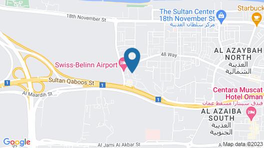 CARNELIAN BY GLORY BOWER HOTEL Map