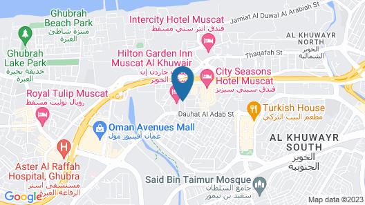 Royal Crown Hotel Map