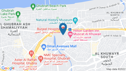 ibis Muscat Map