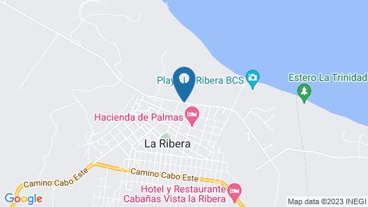 Four Seasons Resort Los Cabos at Costa Palmas Map