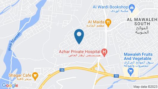 Husun AlMashaikh Hotel Suites Map