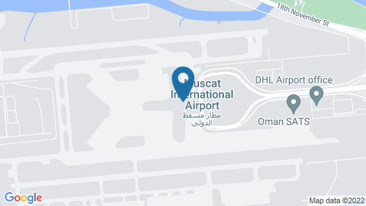 Aerotel - Airport Transit Hotel Map