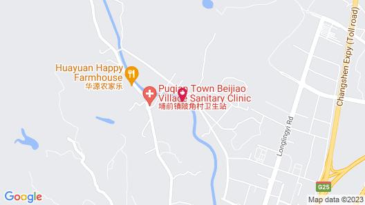 Chunmu Heyuezhuang Hot Spring Hotel Map