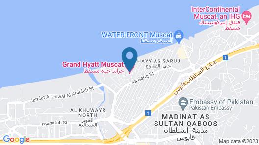 Grand Hyatt Muscat Map