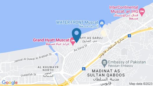 Beach Bay Hotel Map