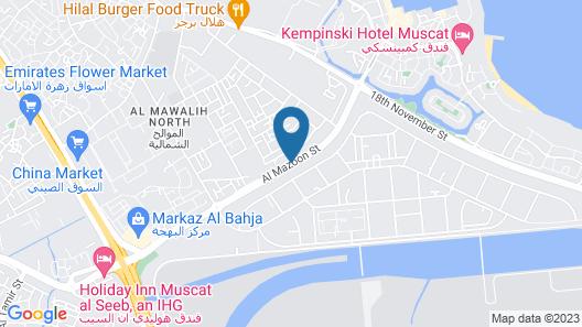Wanasa Hotel Apartments Map