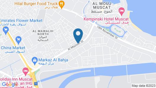 OYO 109 Al Thabit Modern Hotel Apartment Map
