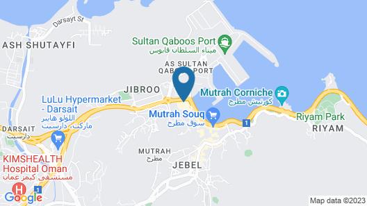 Naseem Hotel Map