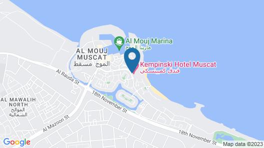 Kempinski Hotel Muscat Map