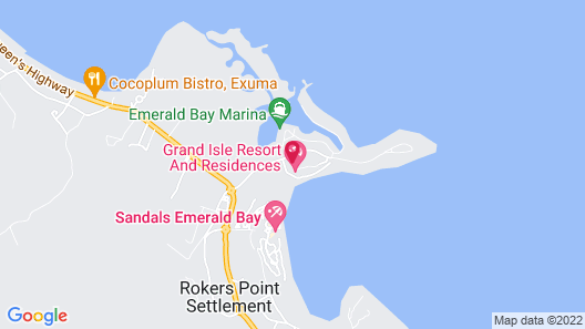 Grand Isle Resort and Residence Map