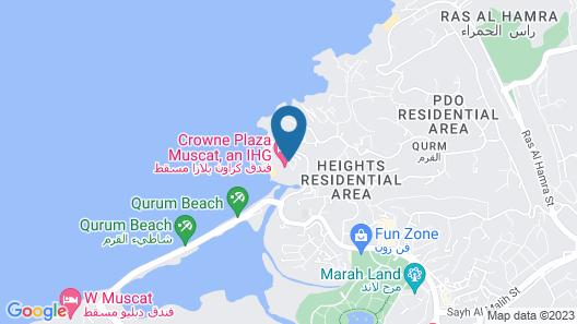 Crowne Plaza Muscat, an IHG Hotel Map