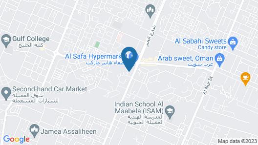 Al Mabilah Hotel LLC Map