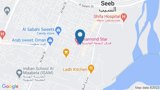 AlShahba Hotel Apartments Map
