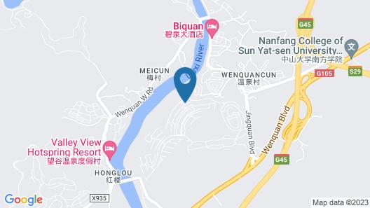 Conghua Hotspring Luck Villa Map