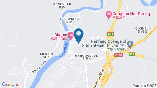 Guangzhou Conghua Yincheng Hotel Map