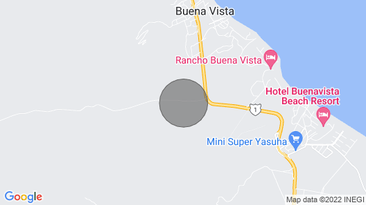 Gorgeous Beach Front Villa on the Sea of Cortez in Baja Map