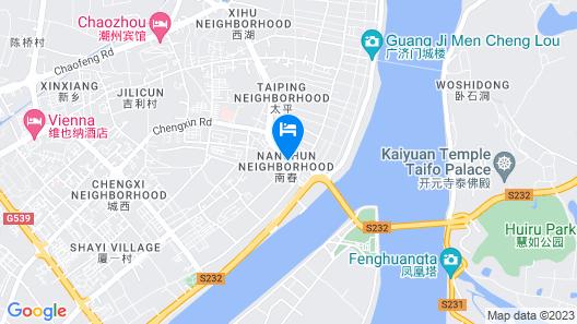 Jinlong Hotel Map