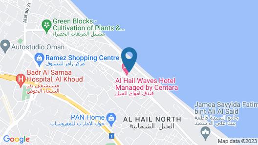 Al Hail Waves Hotel Map