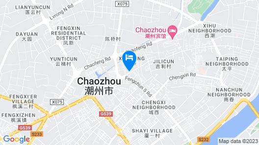 Wenxin Hotel Chaozhou Map