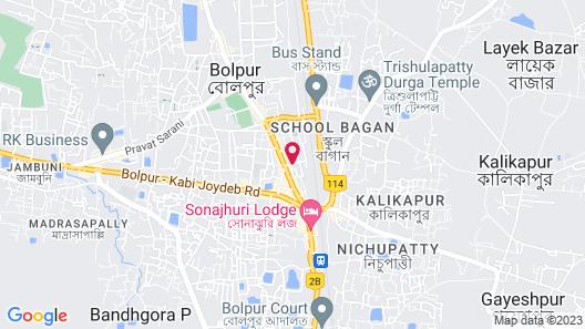 Hotel Siddhi Map