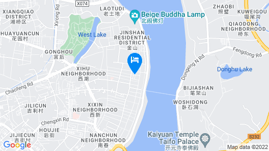 Chaozhou Two Wood Hostel Map