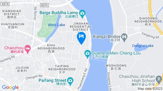 East Sea Hotel Chaozhou Map
