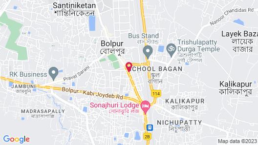 Hotel Dream Inn Map