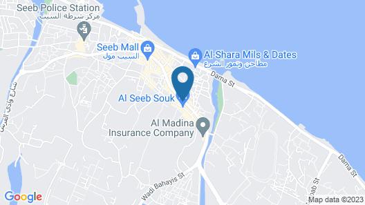 Al Bahjah Hotel Map