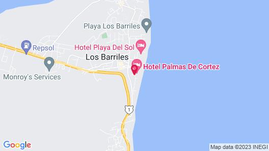 Los Barriles Hotel Map