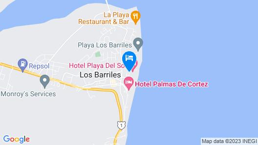 Playa del Sol Map