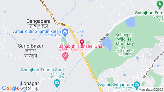 Mohor Kutir Resort Map
